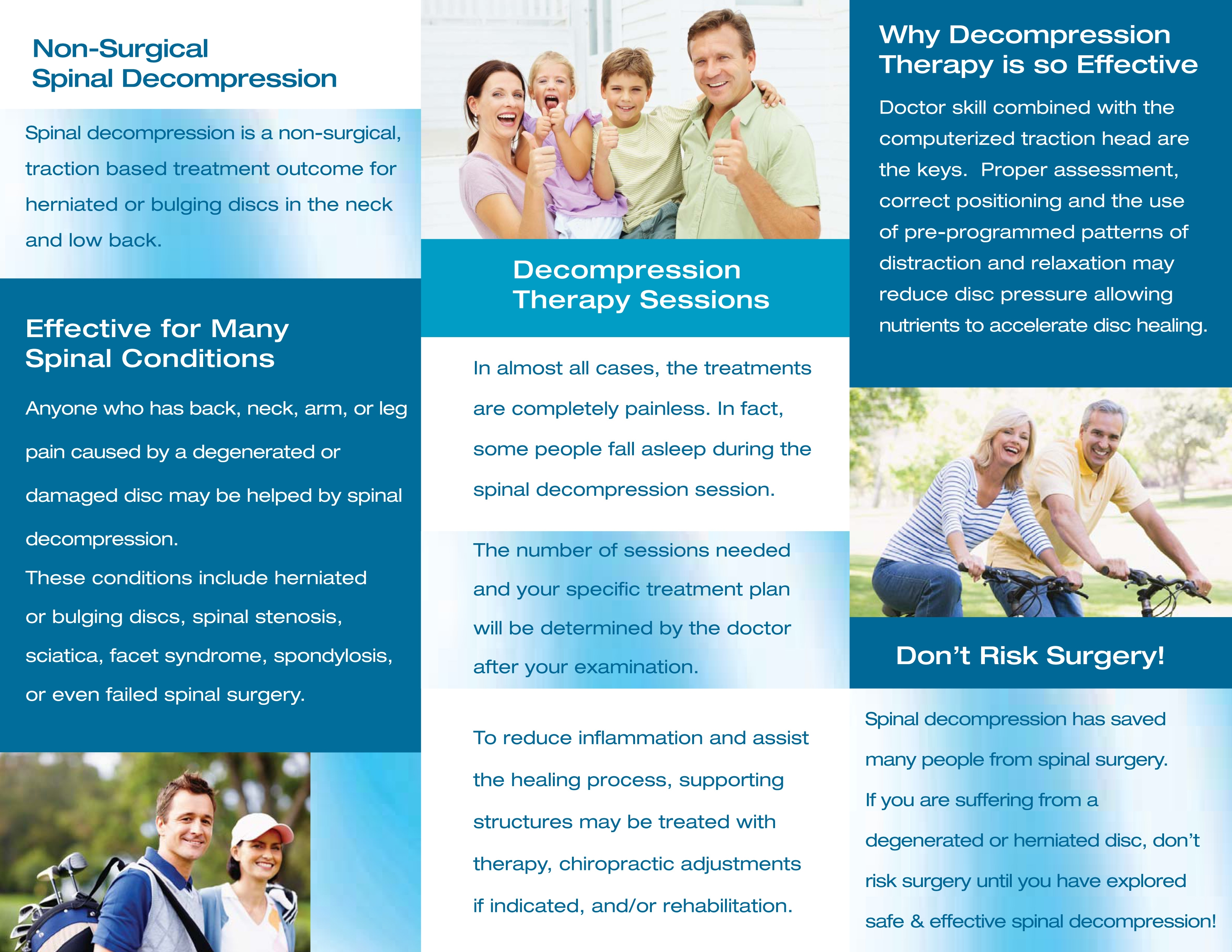 Triton DTS TX Marketing Brochure Pamphlet Chattanooga Spinal ...